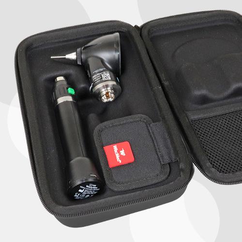 Wispr Digital Otoscope by WiscMed Carrying Case