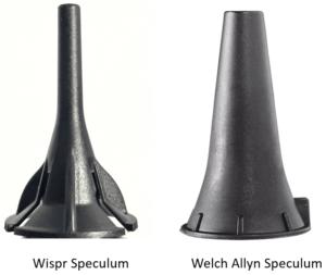 Wispr Welch Allyn speculum comparison